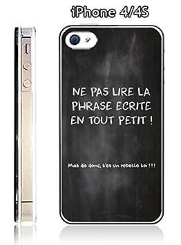 coque iphone 4 citation