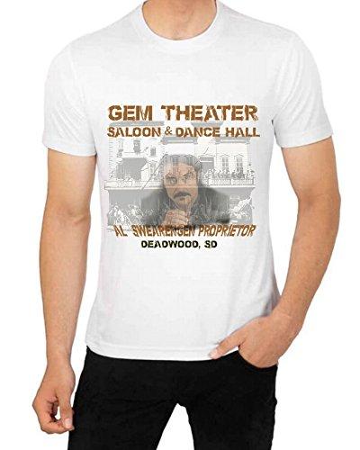 Price comparison product image Deadwood Theater Saloon Dance Hall T shirt Al Swearengen Propieter