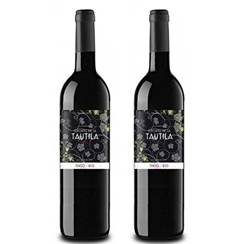 Tautila Tinto Non-Alcoholic Red Wine 750ml (2 Bottles)
