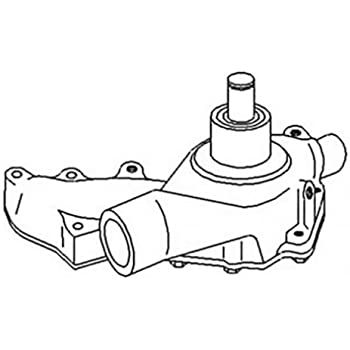 amazon all states ag parts water pump john deere 6030 5200 7520 John Deere 5525 Tractor Parts all states ag parts water pump john deere 6030 5200 7520 5400 ar53547