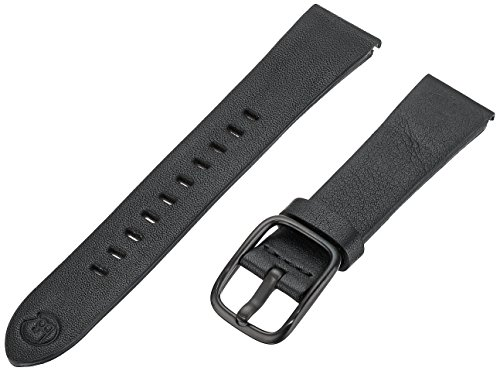 B&nd by Hadley Roma with MODE 18mm Leather Calfskin Black Watch Strap