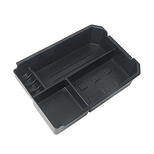 Signswise Car Center Console Armrest Box Glove Box Secondary Storage for 2012 2013 2014 Toyota NEW Rav-4 Rav4