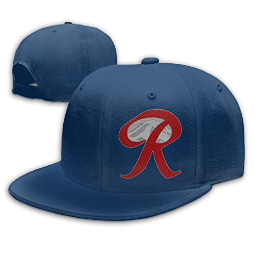 HiPiClothK Unisex Rainier Beer Capital R Mountain Baseball Cap Navy