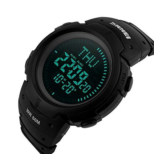 WULIFANG Men Outdoor Climbing Hiking Sport Watch Digital Led Electronic...
