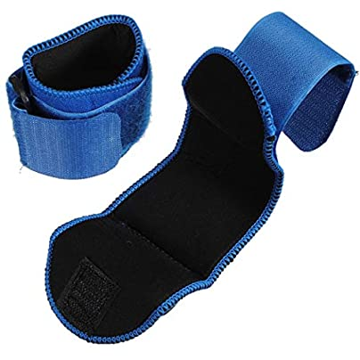 Adjustable Sports Wrist Brace Injury Wrap Bandage Support Gym Strap Wristband Unisex Blue Pair Estimated Price £3.99 -