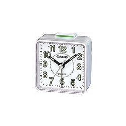 Casio- Tq-140-7Ef Beep Alarm Clock - White [Electronics]