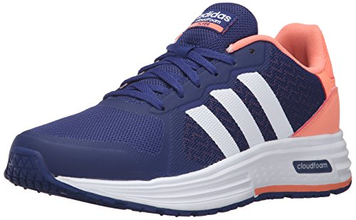 adidas NEO mujer Cloudfoam Flyer W Running Shoe Unity Ink F16/white/sun Glow S16