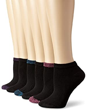 Hanes Women's Low Cut Sock (Pack of 6)