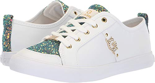 Top G Logo Sneakers Sunset Women's Banx White Low GUESS by 7vwqvrZX