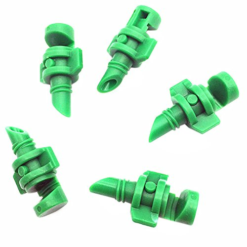 - vanpower 180 Degree Micro Sprayer Fan Jet - Pack of 100Pcs (Green)
