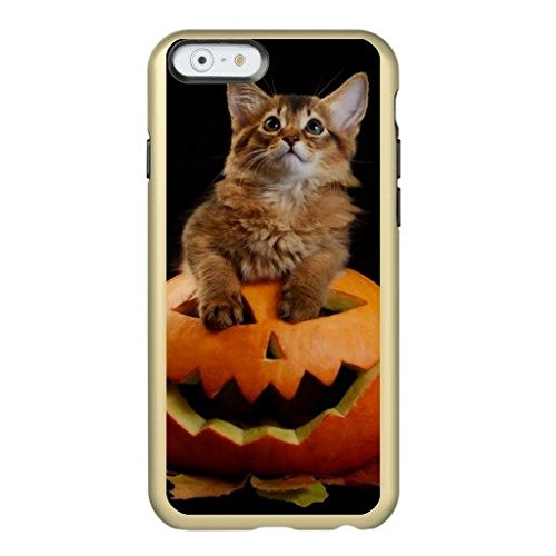 Scary Halloween Pumpkin And Somali Kitten Incipio IPhone 6/6s Plus Anti-Slip Case