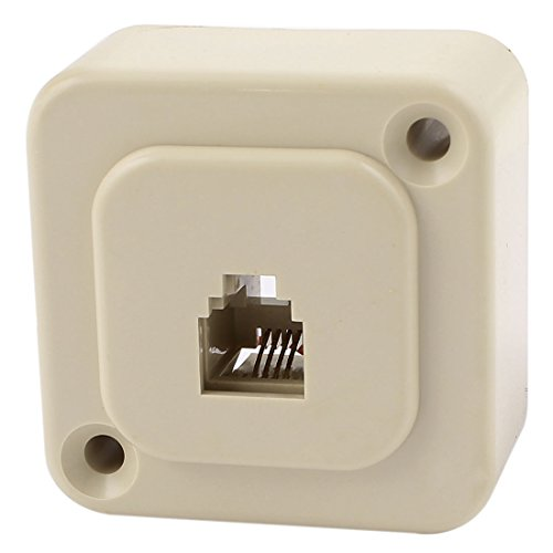 Single Port 6P4C RJ11 Telephone Outlet Socket Wall Plate (6p4c Wall)