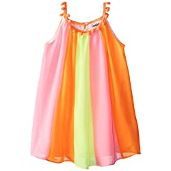 Counting Daisies Little Girls' Chiffon Panel Dress