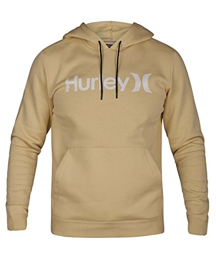 Hurley Men's Surf Check One & Only Pullover Hoodie, Lemon wash, M