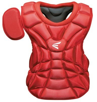Easton Youth Natural Chest Protector, Red