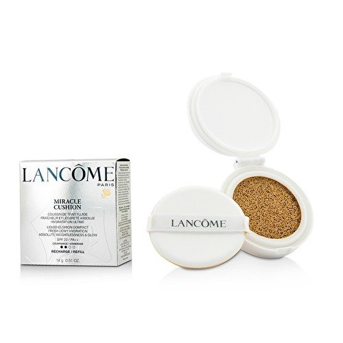Lancome Liquid Foundation (Lancome Miracle Cushion Liquid Compact Foundation, 02 Beige Rose, 0.51 Ounce)
