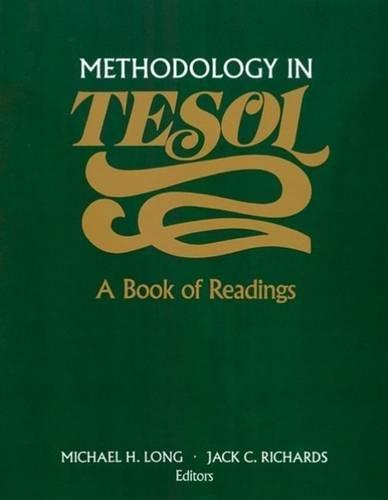 Methodology in TESOL: A Book of Readings