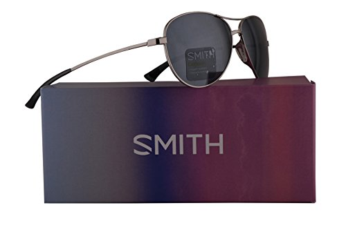 Smith Langley Sunglasses Silver w/Carbonic Platinum Lens 60mm 0DN - Smith Optics Returns