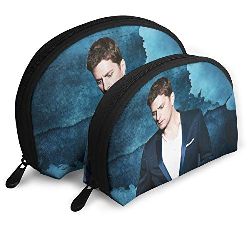 Nathalie R Salmeron Rob Thomas Unisex Portable Bags Clutch Pouch Cosmetic Pouch Makeup BagGift 2Pcs