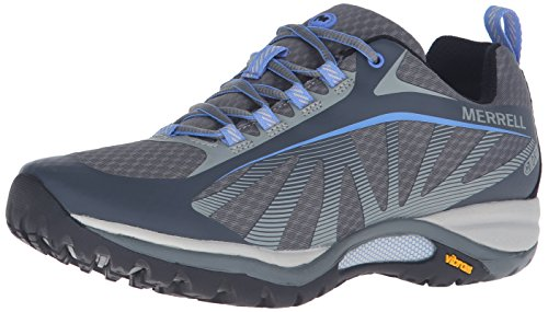 Merrell Women's Siren Edge Waterproof Hiking Shoe, Monument, 8 M US