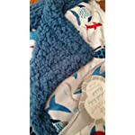 Shark-Sherpa-Blanket-Blue-Soft-Double-Layer-with-Fun-Ocean-Design-for-Baby-Boy-Toddler-Child