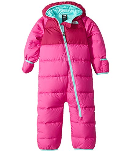 - The North Face Infant Lil' Snuggler Down Suit- Azalea Pink - 18M