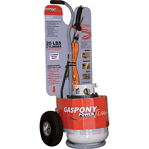 Gaspony Power Flame Propane Torch - 500,000 BTU, Model Number TB-PFP from Thoroughbred