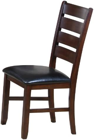 ACME 0 Set of 2 Solid Hardwood Dining Chair