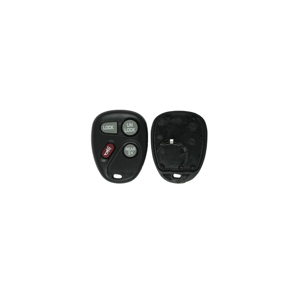 1997 1999 Chevrolet Suburban Keyless Entry Remote Replacement Shell and Button Pad (no electronics) Automotive