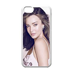 Miranda Kerr_021 High Quality Specially Designed Skin cover Case For iphone 5c White