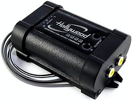 Hollywood Energetic High Low Converter Hlc 2 Navigation Car Hifi