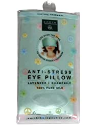 Earth Therapeutics Mind/Body Therapy Anti-Stress Eye Pillow, Lavender + Chamomile, 1 pillow