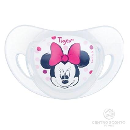 Tigex chupetes de silicona Disney Minnie 6 - 18 meses 2 unidades ...