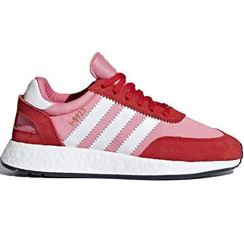 adidas Originals Women's I-5923 Running Shoe, Chalk Pink/White/red, 8 M US