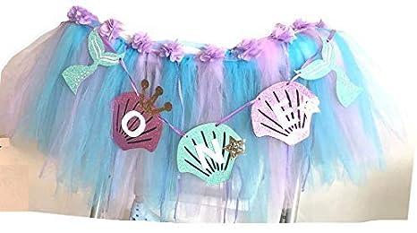 Amazon.com: Tutú para bebé de 1er cumpleaños para decoración ...