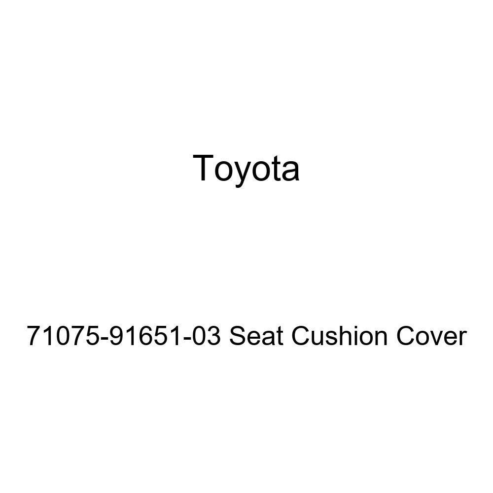 TOYOTA Genuine 71075-91651-03 Seat Cushion Cover