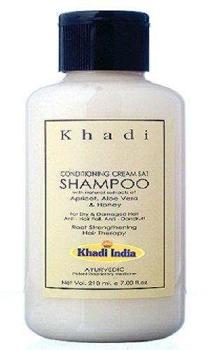 KHADI Conditioning Cream Shampoo - 210 ml - Dry & Damaged Ha