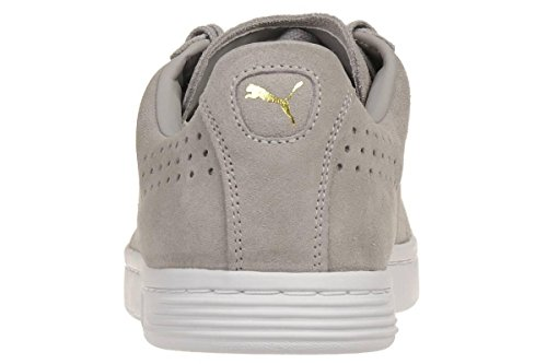 Puma Court Star SD Suede Sneaker Men Trainers black 364581 01 Grau