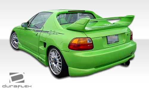 Duraflex ED-RMM-074 Type M Rear Lip Under Spoiler Air Dam - 1 Piece Body Kit - Compatible For Honda Del Sol 1993-1997
