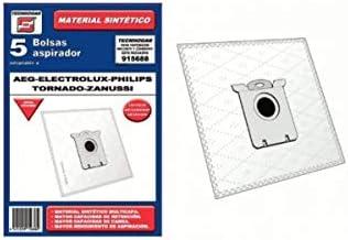 Recamania Bolsa Sintetica Aspirador AEG Electrolux Philips Taurus Zanussi 5 Unidades 915688: Amazon.es