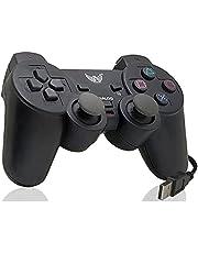Controle Joystick Analógico Vibração Usb Play Ps3 Celular Pc