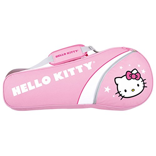 Hello Kitty Sports Individual Tennis Bag Pink(room for up to 3 racquets)