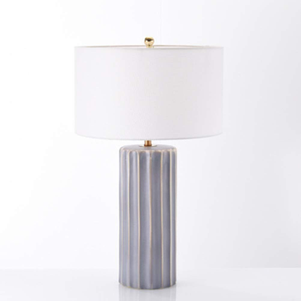 Amazon.com: PPWAN Simple Household Table Lamp Bedroom ...