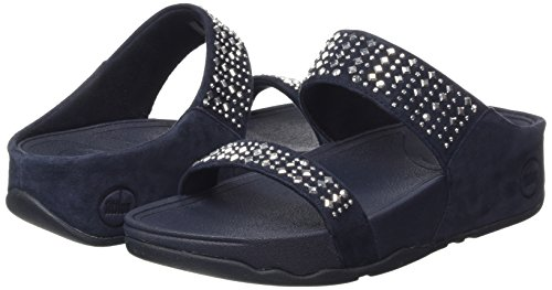 FitFlop Women's Novy Slide Sandal, Supernavy, 5 M US by FitFlop (Image #5)