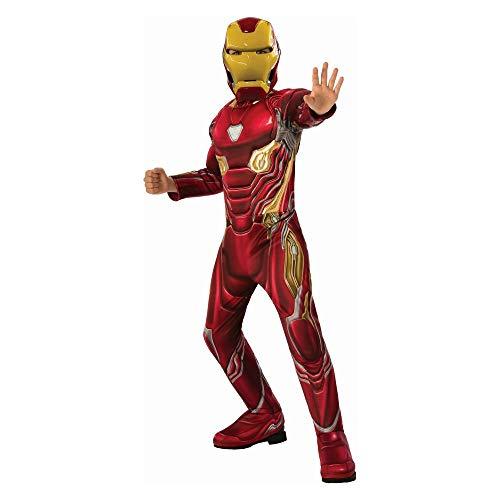 Unbranded Kids' Iron Man Deluxe Muscle Halloween Costume -