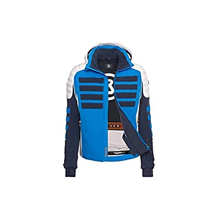 Image Unavailable. Image not available for. Color  Bogner NIK-T Men  Insulated SKI Jacket Blue-Black (2X-Large) 1b751711d
