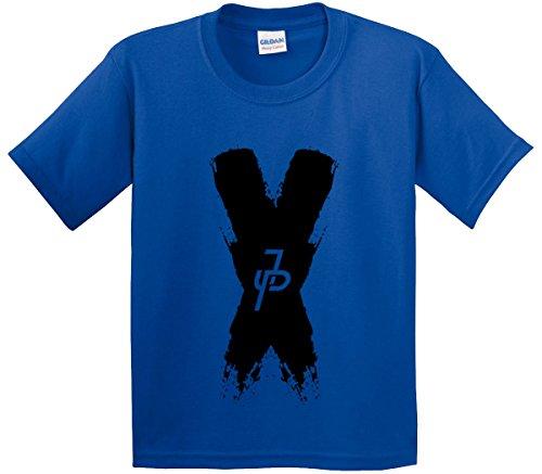 New Way 821 – Youth T-Shirt Jake Paul X Team 10 Medium Royal Blue
