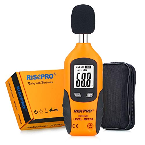RISEPRO Decibel Meter Digital