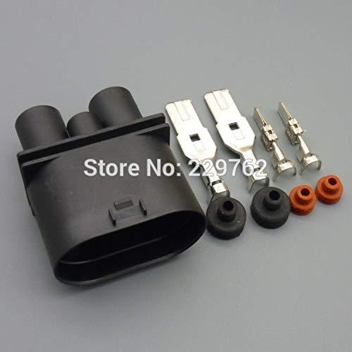Davitu 4 pin Car auto Fan controller connector Auto oxygen sensor plug waterproof electrical Female male connector for VW - (Color Name: 4sets ()