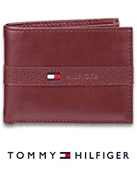 906a7f2f642a9a Men's Thin Sleek Casual Bifold Wallet with 6 Credit Card Pockets and  Removable Id Window · Tommy Hilfiger